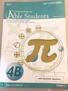 Mathematics: Original Maths for Able Students 4B