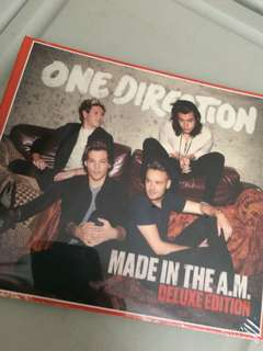 One Direction 1D Made in the AM
