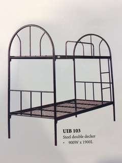 Sturdy & solid metal bunk double decker frame
