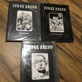 Judge Dredd deluxe HC bundle