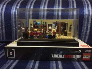 Lego Ideas The Big Bang Theory Set