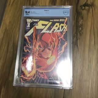 Flash #1 New 52 9.4 CBCS