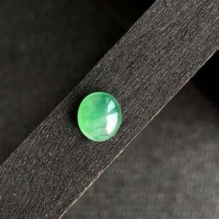 Icy A-Grade Type A Natural Green Jadeite Jade Cabochon Piece No.130022