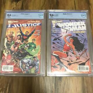 Cbcs 9.6 Dc new 52 first issues