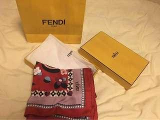 Brand new Fendi silk Scarf