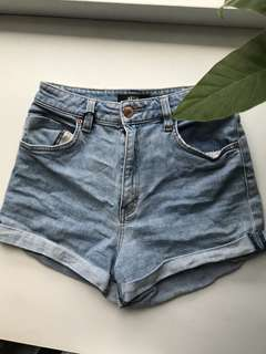 Neuw women's denim shorts