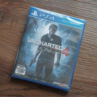 Uncharted 4 A Thief's End PlayStation PS4 Original Game Brand New Sealed