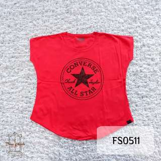 Red T-Shirt Converse All Star!