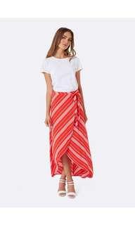 FOREVER NEW wrap skirt Size10