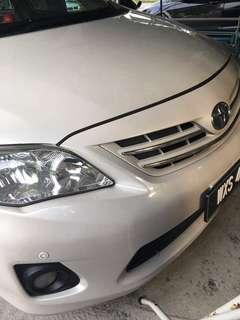 Toyota Altis 1.8 Dec 2012