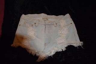 Denim Shorts - Size 10