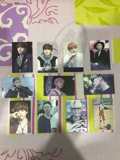 BTS Suga Unofficial Photocards