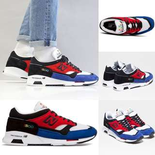 NEW BALANCE - Color Prisma Made in UK M1500 PRY (Red with Black & Blue)