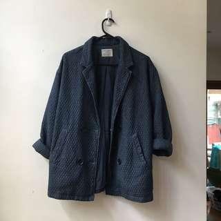 Zara quilted soft blazer