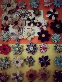 Hand Make Flower Brooch