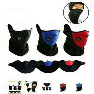NINJA MASK ON HAND FOR SALE P150 1pc Only color blue
