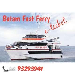 Batam Fast Ferry (e-ticket) Indonesia passport