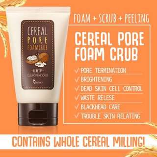Cereal pore scrub