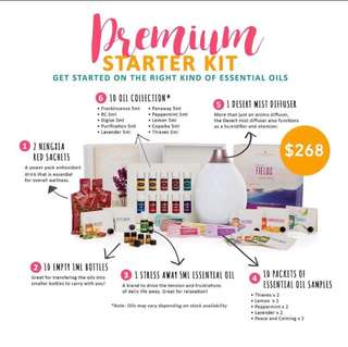 [FREE Kidscents Toothpaste & Thieves Hand Sanitizer] Young Living Premium Starter Kit