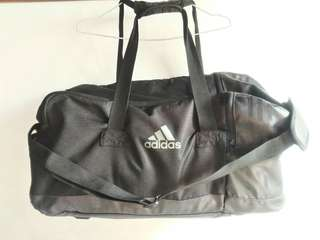 [✖NOT ON HAND] AUTHENTIC Adidas duffel bag 3 stripes LARGE performance team bag (gym bag)