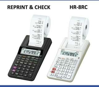 ⌨⌨⌨6折全新行貨卡西歐迷你出纸計数機-40% Off Brand New Original Casio mini  Printing Calculator