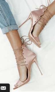 Billini Rose Satin Isana heels