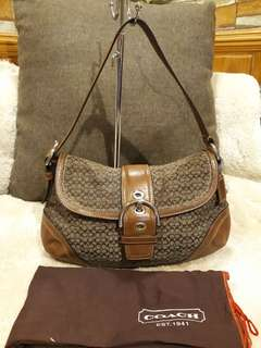 Authentic Coach Hobo bag with Dustbag