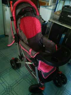 Preloved Pink Giant Carrier Stroller