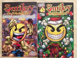 Smiley/ archie/ jughead/ Betty -9 comics
