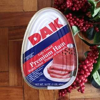 DAK Fully Cooked Premium Ham (1 lb.) 454g