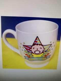 大口仔 陶瓷杯共2隻