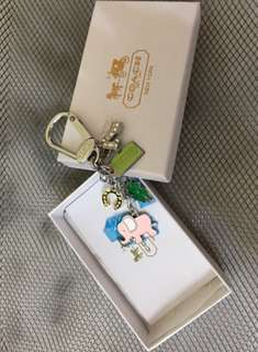 Original Coach 7Lucky Elephant Key Chain