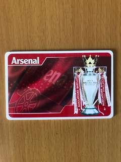 Arsenal 阿仙奴 特別版 八達通卡 可議
