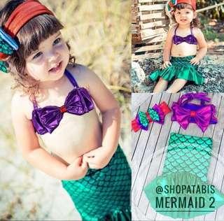 Mermaid Swimsuit for Little Girls