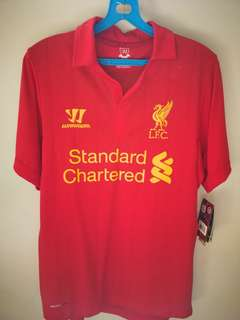 Liverpool Jersey Home 2012/13 Signed/ Autographed by Craig Bellamy Warrior
