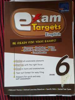 P6 Exam Targets Revision