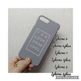Iphone case (you look so cool)