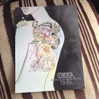 OBRA Adult Coloring Book (Tinta)
