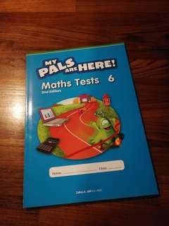 Primary 6 Math Tests My Pals Are Here!