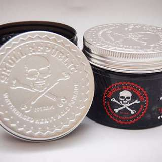 Black Edition Skull Republik Pomade