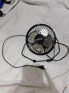 Airpro mini usb fan