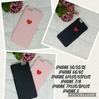 iPhone Couple case Black and Pink only