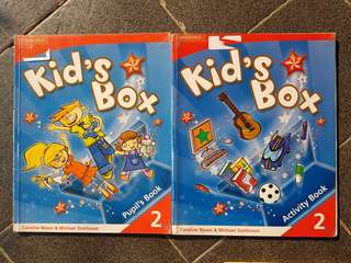 Kid's Box, 2 dan 3, pupil's and activity books