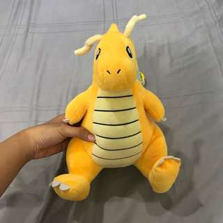 Dragonite plushie from Seoul korea!