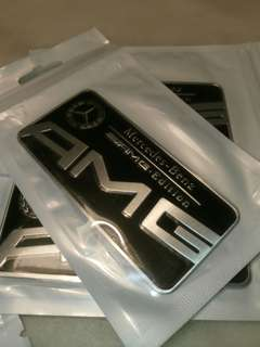 AMG Plate Emblem for Mercedes-Benz