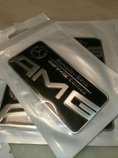 AMG Plate Emblem for Mercedes-Benz