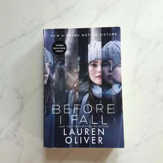 Before I Fall - English Novel