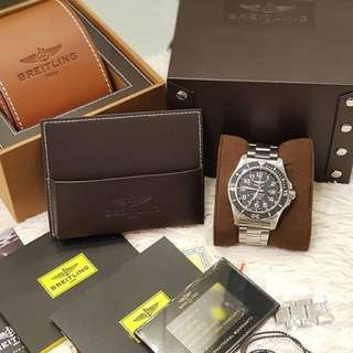 Unused Breitling Superocean Automatic Mens Watch