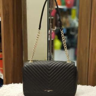 Karl Lagerfeld Quilted Chain Shoulder Bag
