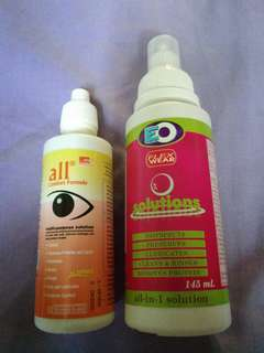 Contact lenses Solution